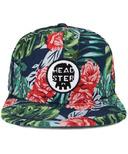 Headster Kids Snapback Hat Dark Aloha