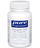 Pure Encapsulations Curcumin 500 with Bioperine