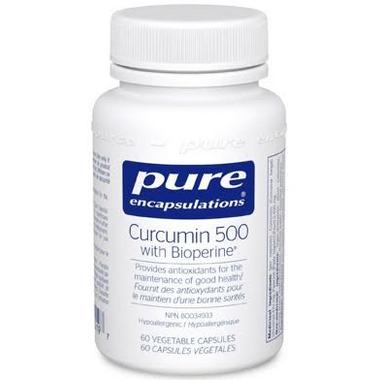Pure Encapsulations Curcumin 500 with Bioperine
