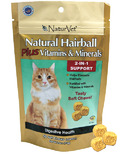 Naturvet Natural Hairball Plus Vitamins & Minerals Soft Chews