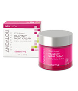ANDALOU naturals 1000 Roses Heavenly Night Cream Sensitive