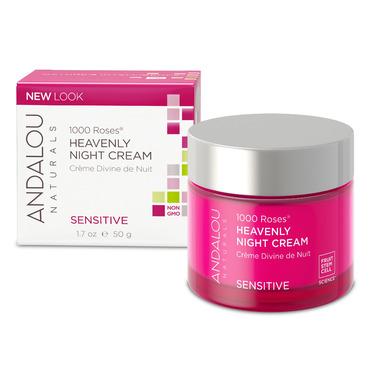 ANDALOU naturals 1000 Roses Heavenly Night Cream Sensitive