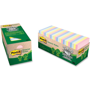 Post-it Greener Notes Cabinet Pack