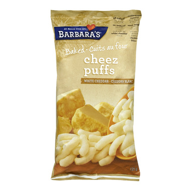 Barbara\'s White Cheddar Baked Cheez Puffs