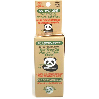 Senzacare Tea Tree Oil Natural Silk Dental Floss