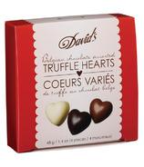 David's Assorted Belgian Chocolate Truffle Hearts