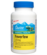 Swiss Natural Feverfew Herb Capsules