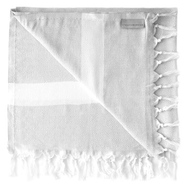 Stray & Wander Yara Turkish Towel Grey