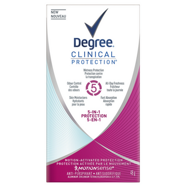 Degree Women Clinical 5-in-1 Antiperspirant Stick