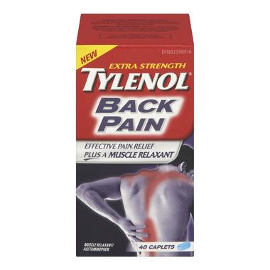 Tylenol Back Pain Extra Strength Caplets