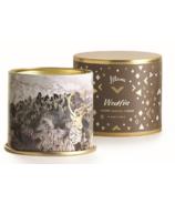 ILLUME Woodfire Large Tin Candle
