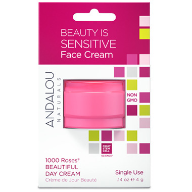 ANDALOU naturals 1000 Roses Beautiful Day Cream Sensitive Pod