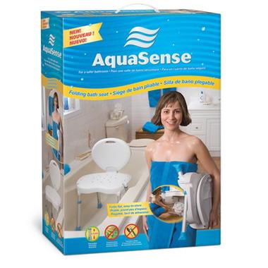 AquaSense Folding Bath Seat