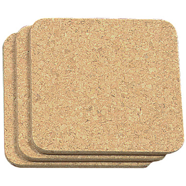 Square Cork Trivet Set