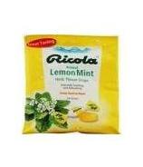 Ricola Cough Drop Lemon Mint