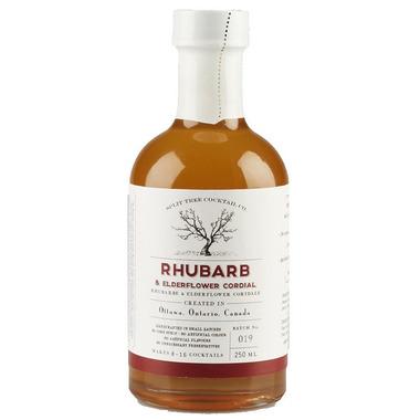 Split Tree Cocktail Co. Rhubarb and Elderflower Cordial