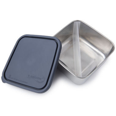 U-Konserve Divided Large To-Go Stainless Steel Container in Ocean