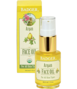 Badger Argan Face Oil For All Skin Types