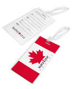 Maple Leaf Travel Luggage Tag