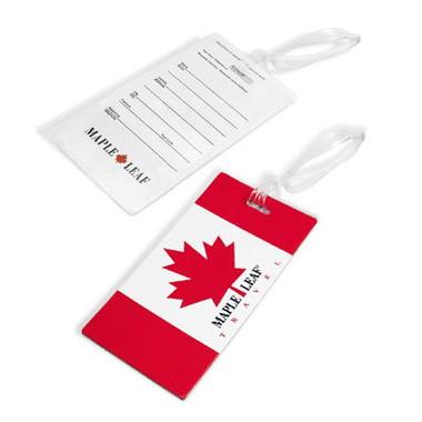 Maple Leaf Travel Luggage Tag