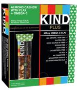 KIND Plus Almond Cashew + Omega-3 Bars