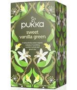 Pukka Sweet Vanilla Green Tea