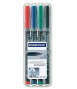 Staedtler Lumocolour Universal Permanent Extra Fine Markers