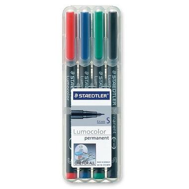 Staedtler Lumocolour Universal Permanent Extra Fine Markers
