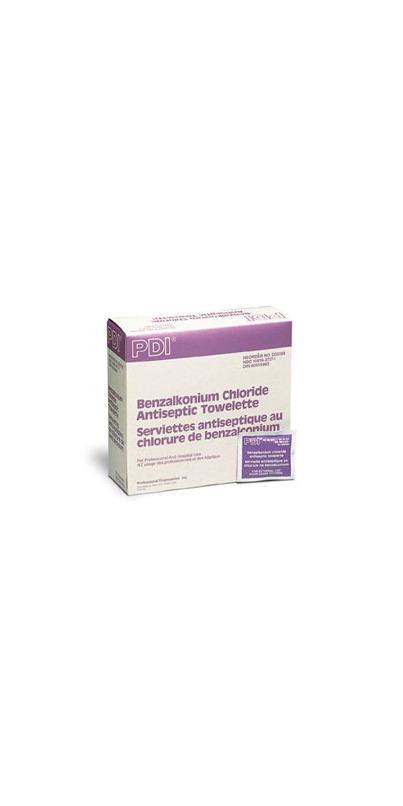 Buy PDI Benzalkonium Chloride Antiseptic Towelettes at ...