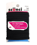 Scunci No Damage Flat Hair Elastics
