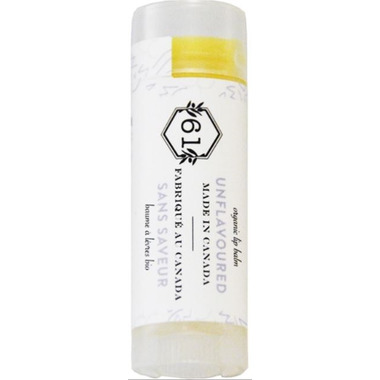 Crate 61 Organics Unflavoured Lip Balm