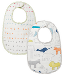Petit Pehr Noah's Ark & Painted Dot Bib Set