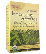 Uncle Lee's Imperial Organic Lemon Ginger Green Tea