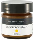 Crawford Street Lemon Deodorant Cream