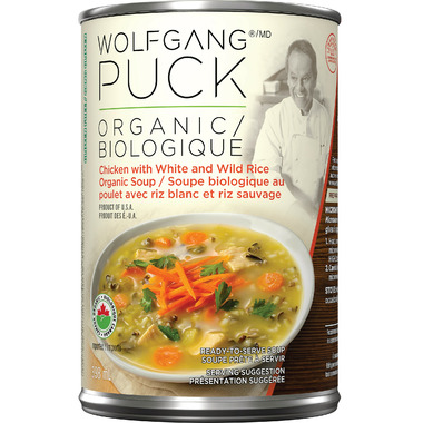 Wolfgang Puck Organic Chicken with White and Wild Rice Soup