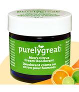 Purelygreat Cream Deodorant for Men