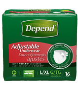 Depend Adjustable Underwear Maxium Absorbency