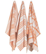 Now Designs Pure Kitchen Dishtowel Set Kumquat