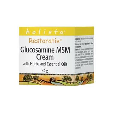 Holista Restorativ Glucosamine MSM Cream