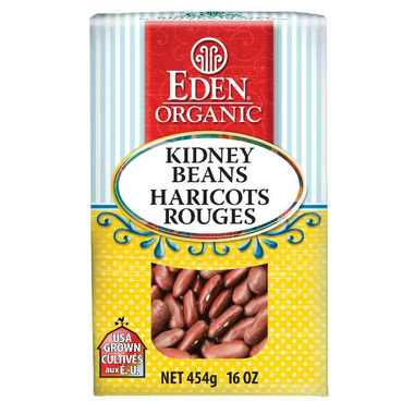 Eden Organic Dry Dark Red Kidney Beans