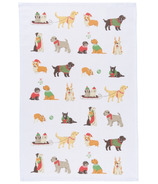 Now Designs Holiday Pups Dishtowel