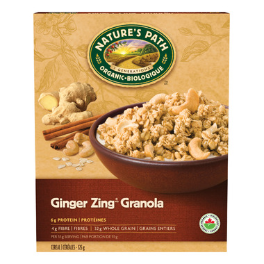 Nature\'s Path Organic Ginger Zing Granola