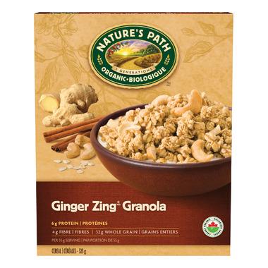 Nature\'s Path Organic Ginger Zing Granola