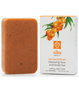 Sibu Sea Buckthorn Cleanse & Detox Face & Body Bar