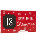Pearhead Countdown to Christmas Chalkboard