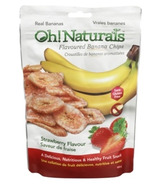 Oh! Naturals Banana Chips Strawberry Flavour