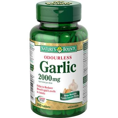 Nature\'s Bounty Odourless Garlic