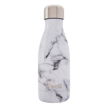 S\'well Elements Collection Stainless Steel Water Bottle White Marble