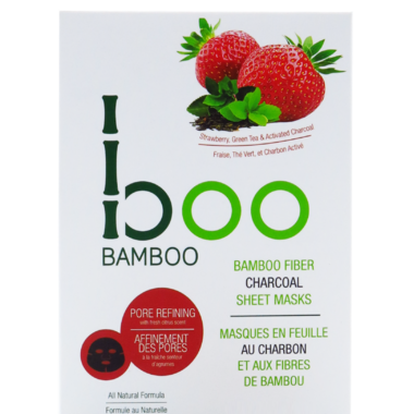 Boo Bamboo Sheet Mask Pore Refining 3 Pack
