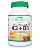 Organika Vitamin K2 + D3